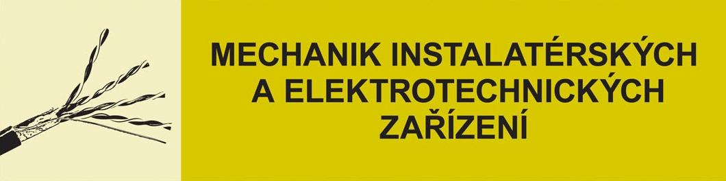 Studijní obor Mechanik instalatérských a elektrotechnických zařízení - aj